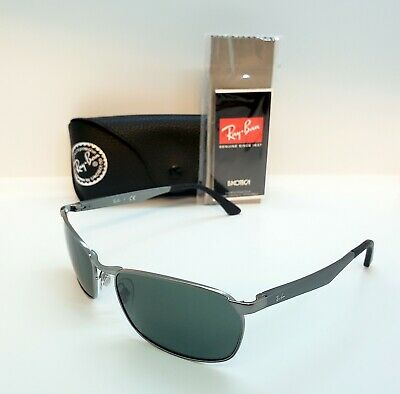 3326c8a5384bb AUTHENTIC RAY BAN RB3534 Solid G15 Replacement Lenses size 62 PAIR ...