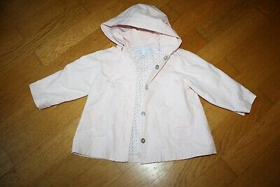 Girls Tartine et Chocolat pink raincoat - Age 18 months