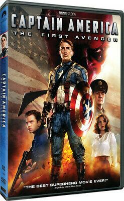 Captain America: The First Avenger (Dvd, 2011) - New Sealed Dvd