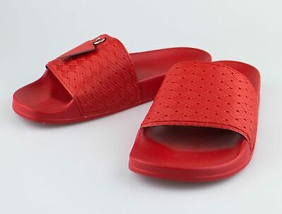 8f2596b04 NIB ADIDAS RAF SIMONS Ring Adilette Red Rubber Sandals Shoes 6 US 39 UK  275