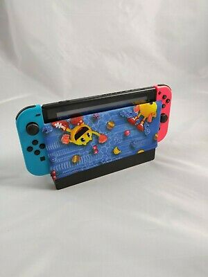 PacMan Dock Sock - Nintendo Switch Dock Cover - Cotton Dock Cozy - Switch Cover