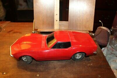 Vintage Eldon 1968 Corvette 13 Remote Control Air Touch Command Battery Car