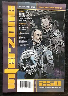 Interzone New Science Fiction and Fantasy magazine issue 258 May-Jun 2015