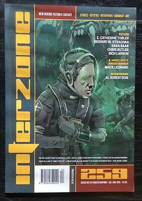 Interzone New Science Fiction and Fantasy magazine issue 259 Jul-Aug 2015