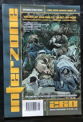 Interzone New Science Fiction and Fantasy magazine issue 260 Sep-Oct 2015
