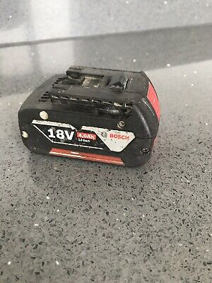 Bosch 18v battery 4ah Used In Perfect Working Condition
