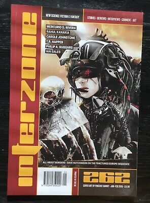 Interzone New Science Fiction and Fantasy magazine issue 262 Jan-Feb 2016