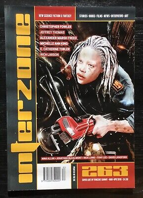 Interzone New Science Fiction and Fantasy magazine issue 263 Mar-Apr 2016