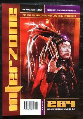 Interzone New Science Fiction and Fantasy magazine issue 264 May-Jun 2016