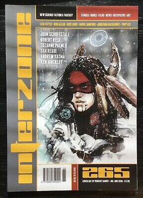 Interzone New Science Fiction and Fantasy magazine issue 265 Jul-Aug 2016