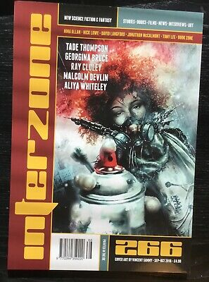Interzone New Science Fiction and Fantasy magazine issue 266 Sep-Oct 2016