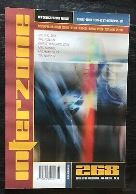 Interzone New Science Fiction and Fantasy magazine issue 268 Jan-Feb 2017