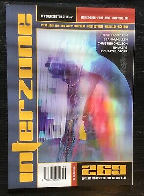 Interzone New Science Fiction and Fantasy magazine issue 269 Mar-Apr 2017