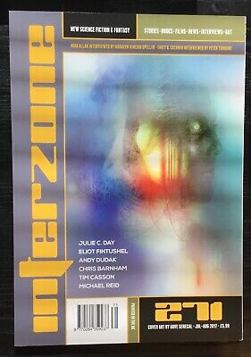 Interzone New Science Fiction and Fantasy magazine issue 271 Jul-Aug 2017