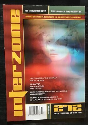 Interzone New Science Fiction and Fantasy magazine issue 272 Sep-Oct 2017