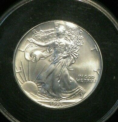 1993 Uncirculated Silver American Eagle