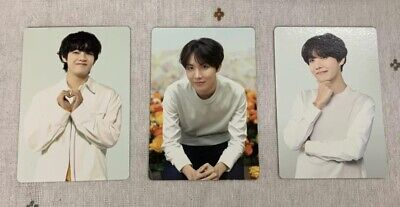 BTS Love Yourself World Tour Official Mini Photocard  Japan Edition - V,JHOPE