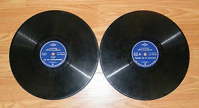 """LOT of (2) Lone Star Children's Bible Story Records """"Blessed Are Ye"""" & """"Moses"""""""