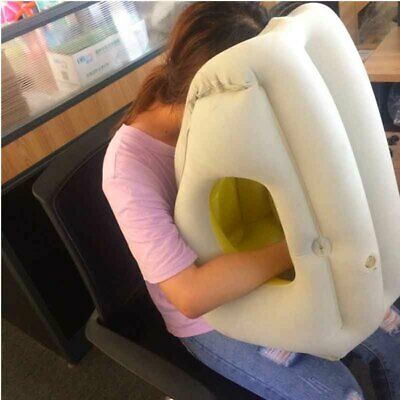 Inflatable Air Soft Cushion Trip Portable Innovative Sleepy Cloud Travel Pillow