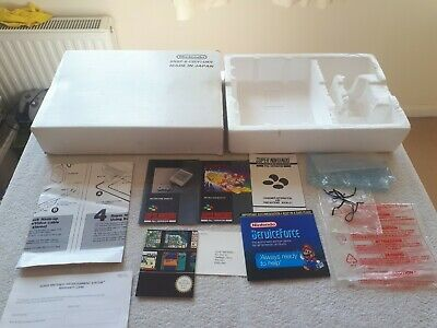 Super Nintendo Sleeve & Poly Only - Including Paperwork SNES PAL