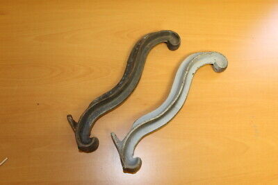 "Cast Iron Horse Tack Harness Hooks 14"" Very Heavy Set of 2"