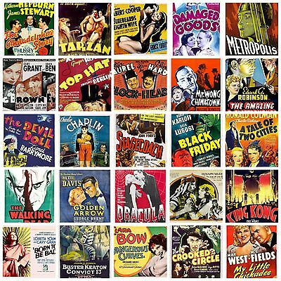 Art A4 Horror posters Western Comedy Melodrama Musicals Thriller Films