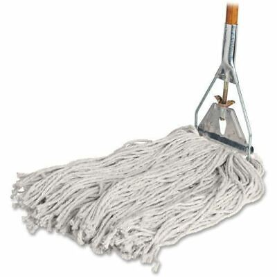 Genuine Joe Cotton Wet Mop with Handle 54201