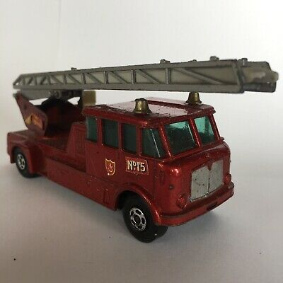 Matchbox Super Kings, K-15 Merryweather Fire Engine, made in England 1971