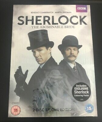 Sherlock: The Abominable Bride [DVD] New Sealed