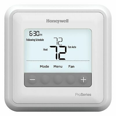 Honeywell T4 Pro Programmable 1H/1C Thermostat Cool White Backlight TH4110U2005H