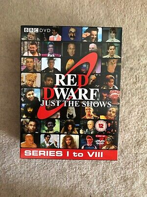 red dwarf series 1-8 DVD collection