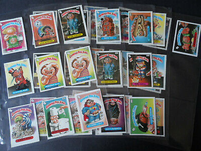 TOPPS GARBAGE GANG/PAIL KIDS UK (IRELAND) 1986 SERIES 5 job lot 40 STICKERS A/B