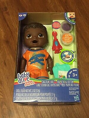Baby Alive Super Snacks Snackin' Luke (African American)