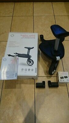 Bugaboo Comfort Wheeled Board with seat & Cameleon adaptors-Excellent Condition