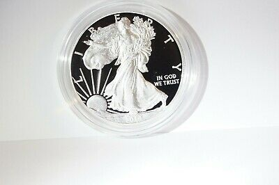 2014 W  American Eagle Silver Proof In Ogp