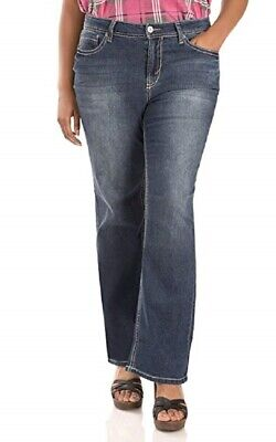 e0e59350978e5 Wallflower Women's Juniors Plus Size Basic Legendary Stretch Bootcut Denim  Jean,