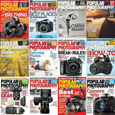 Popular Photography Magazine's 2008-2017 (2 DVD) +EXTRAS Pdf's Practical Outdoor