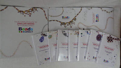 Beads Direct Complete Guide Jewellery Making 7 CDROMs With Box &Folder RRP £125