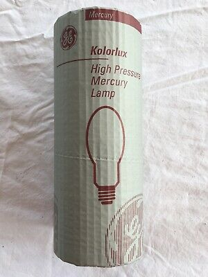 GE Kolorlux High Pressure Mercury Lamp H250/40 92620 250W E40 Base - Brand New