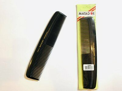 """MATADOR 2206.9 9"""" Inches Premium Professional Hair comb Sealed Made in Germany"""