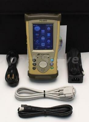 Topcon FC-250 Field Controller Data Collector w/ Pocket 3D V11.0