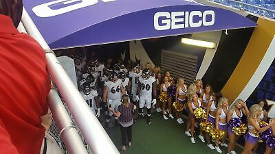 3 Baltimore Ravens e-tickets vs Texans! 4th row on the tunnel (M&T 11/17)