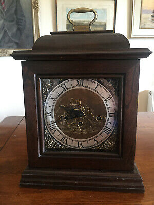 Bracket Clock by Wuersch. American, probably 1960's.  Westminster Chimes
