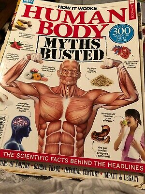 How It Works Human Body Magizine 1st Edition