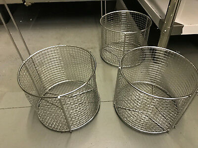 Dipping Round Basket for Henny Penny Archway AyrKing sifter Breading Table