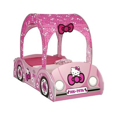 Hello Kitty Feature Toddler Pink Car Bed
