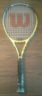 WILSON FEDERER GRAND SLAM LIMITED EDITION TENNIS RACQUET 4 1/4 Ships Free in USA