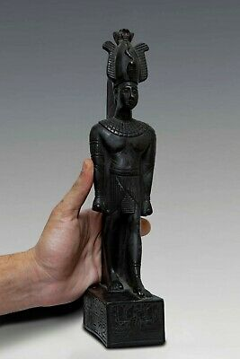 Rare ANCIENT EGYPT EGYPTIAN Antique OSIRIS GOD of the Dead STATUE Stone 525 BC