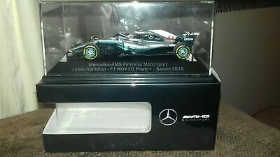 Minichamps 1:43 Mercedes W09 Lewis Hamilton - 2018 World Champ Mercedes Ed #2