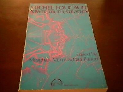 MICHEL FOUCAULT: POWER, TRUTH, STRATEGY Free Shipping Best Price